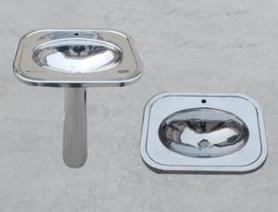 菜盆立柱式洗脸台 洗手盆喷头 洗菜盆碗池架 即热双孔头调节通用型