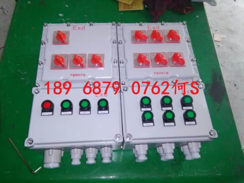 BXM(D)防爆照明(动力)配电箱IIB级多回路IP65