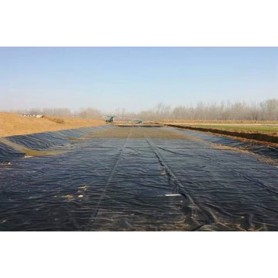 松原耐酸碱 土工膜 糙面 HDPE防渗膜