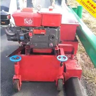 专门用来做高速路面上的马路牙子的成型机 拦水带成型机