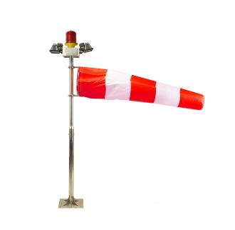 2米机场风向标 风向标 LED风向标风向标直升机停机坪风向标