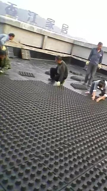 山西晋城屋顶绿化排水板、阻根板厂家欢迎您