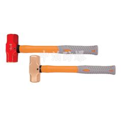 供应桥防牌防爆装柄大锤,防爆塑柄八角锤,防爆装柄羊角锤