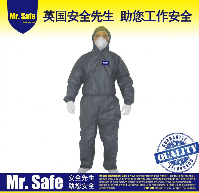 C2喷漆防尘连体服养殖疾控隔离服防护服