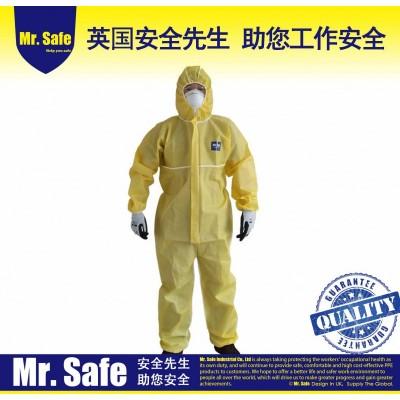 C6耐酸碱防护服C级防化服化学防护服耐油防护服连体服