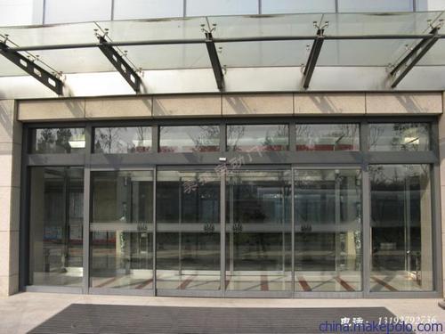 房山区安装感应玻璃门钢化玻璃