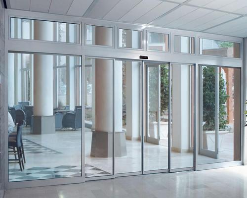 订做自动门安装玻璃门