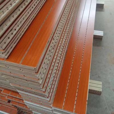 木塑环保吸音板 学校琴房会议室墙面吸音板材料