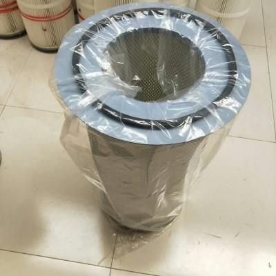 通驰生产聚酯纤维覆膜除尘滤筒350*900