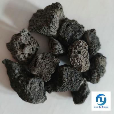 火山岩生物悬浮球滤料火山岩出厂报价