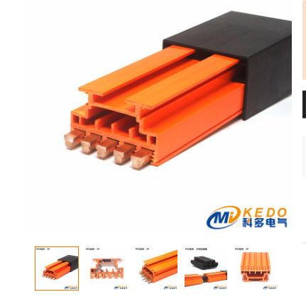 物流机械RGV穿梭车导电轨 科多触滑线FKD-501/80A