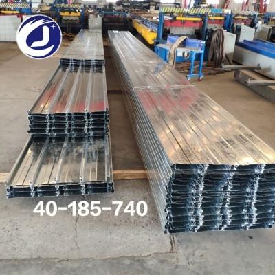 天津镀锌压型钢板YXB40-185-740型闭口楼承板