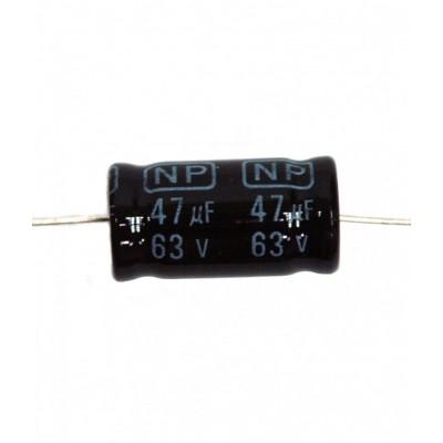 NP卧式无极性电解电容器