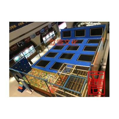 网红超级蹦床,蹦床粘粘乐出租出售