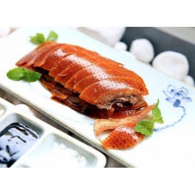 北京果木脆皮烤鸭加盟总部&蘸酱卷饼烤鸭加盟