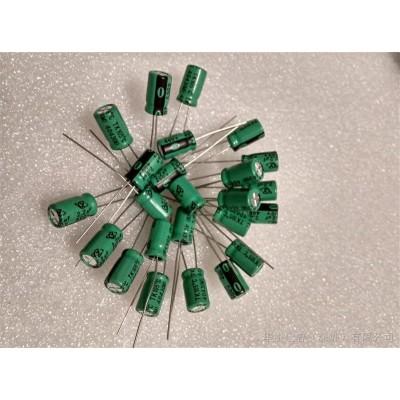 滤波电解电容2.2uf400v尺寸6.3x10