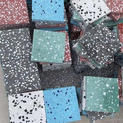 水磨石防静电预制板-水磨石不发火预制板-无机水磨石预制板