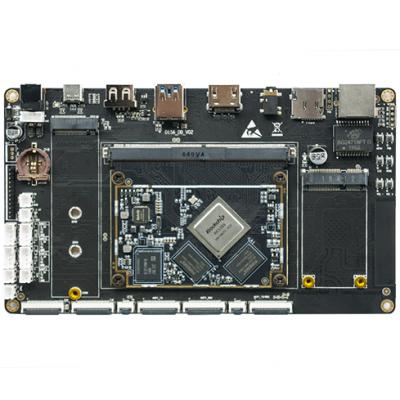 LKD3399标准MXM3.0连接全功能行业板