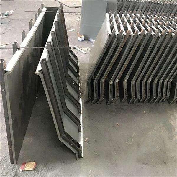 高速公路防撞墙钢模具 防护墙模板规格
