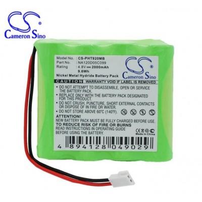 飞利浦TD9200 TD9203婴儿监护仪电池