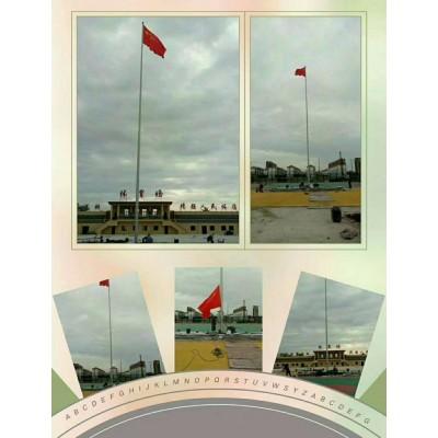 黄浦区幼儿园旗杆锥形旗杆上海电动音乐旗杆