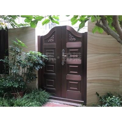 定制花园庭院铸铝门