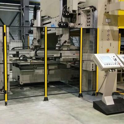 机器人护栏网厂家 科尔福专业生产机器人围栏