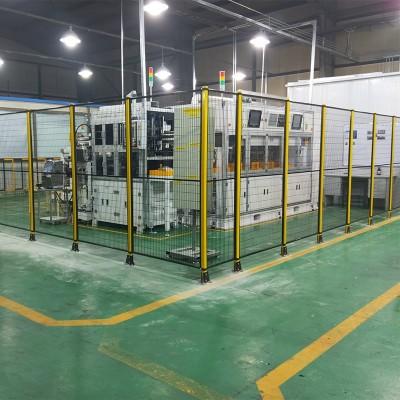 机器人护栏网厂家 机械设备安全防护围栏