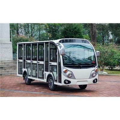 18座燃油观光车,保定四轮观光游览燃油车,92汽油观光车厂家