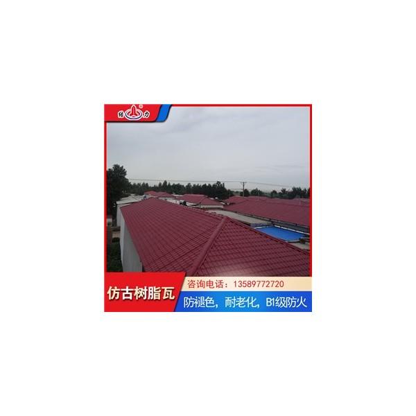结力仿古瓦 山东滕州树脂琉璃瓦 塑料装饰瓦持续中国美