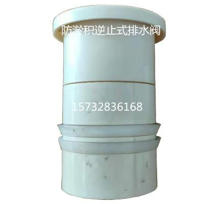 道治理用逆止式排水器DN110地下水逆止阀排水阀