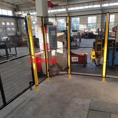 机器人安全围栏定制 机械手防护网 车间安全围栏定制
