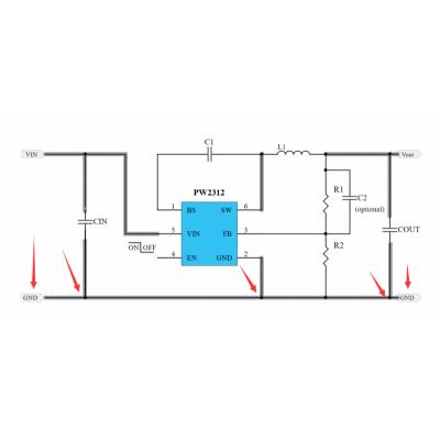 15V转3.3V降压芯片,极大电流,外围少