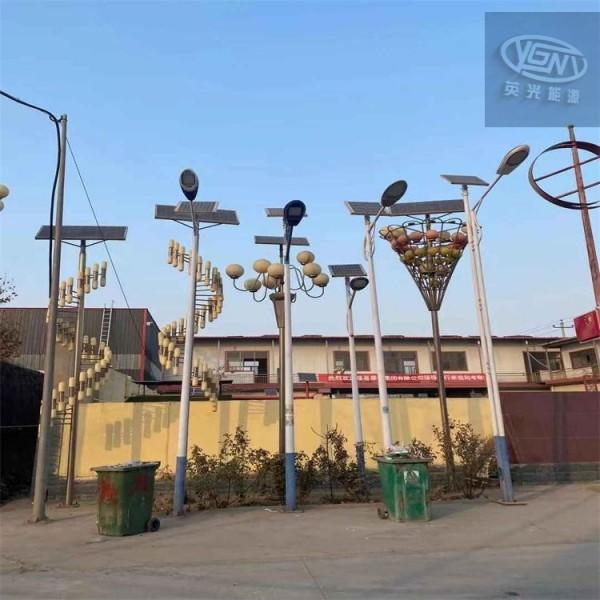 北京通州 4米太阳能灯杆30瓦 海螺臂