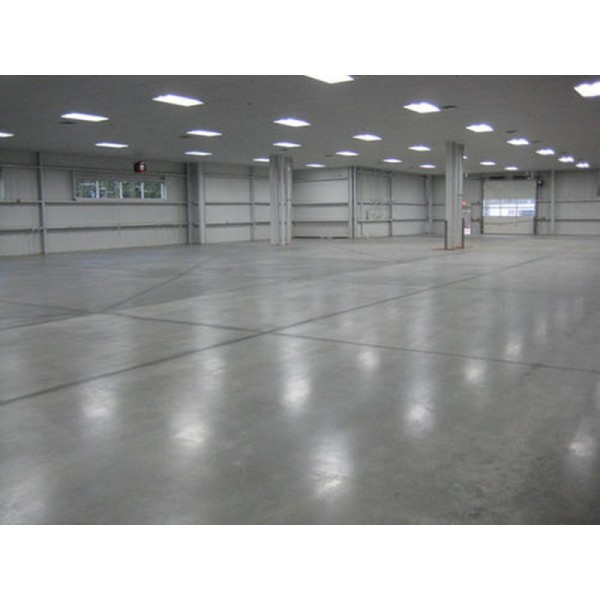 厂房装修时金刚砂地坪施工技术要点
