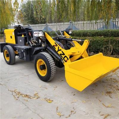 江苏四缸无极变速铲车养殖清粪装载机牵引力强