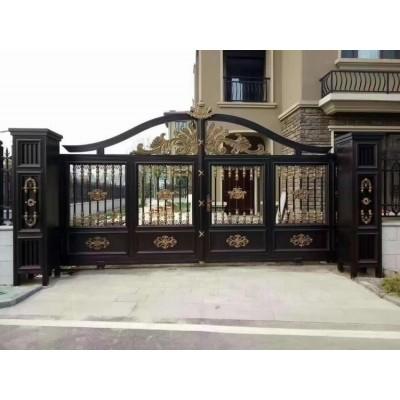 山东厂家铂莱门业2021年新款铝艺庭院别墅大门