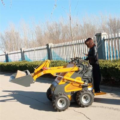 呼伦贝尔铲粪用小铲车集装箱专用铲车防滑耐用