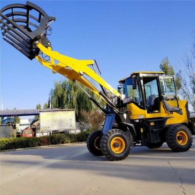 宿州抓木机抓混凝土石块机低压宽基轮胎