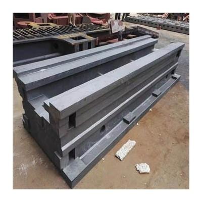 数控机床铸件 机床工作台 车铣镗床身铸造 斜床身
