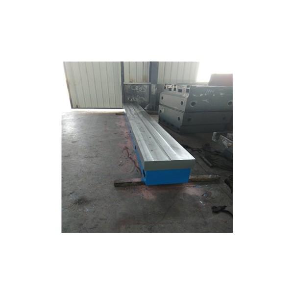 铸铁焊接平台 圆形检验研磨t型槽平板 测功机底板 电机试验台