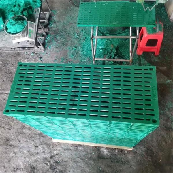 达晟畜牧厂家直销双筋加厚复合漏粪板、电热板、保温箱铸铁腿食槽