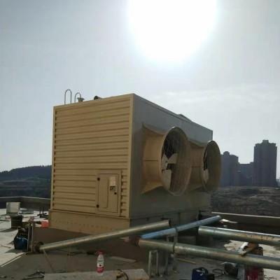 方形冷却塔  30T冷却水塔 一体冷却塔 一体式 连体