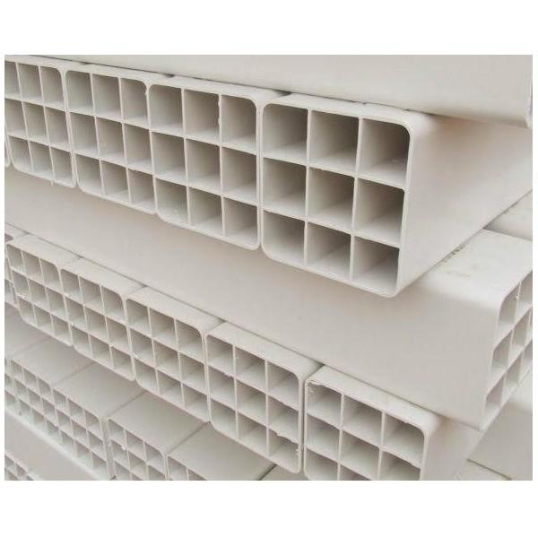 北京107九孔格栅管价格PVC九孔格栅管厂家