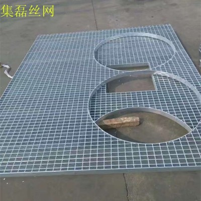 【集磊】平台格栅板|镀锌平台钢格栅|不锈钢平台钢格栅板