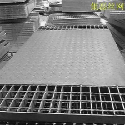 【集磊】复合钢格栅板|热镀锌复合钢格栅|钢结构复合钢格栅板