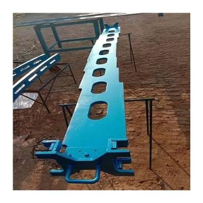 对弧样板 引锭杆矩形坯拉矫机平尺形多弧零号段内外弧对弧样板