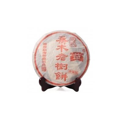 大益 2003年  乔木老树青饼400克 广东茶有益有限公司