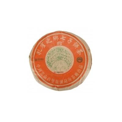 大益 2003年 孔雀之乡青饼 广东茶有益有限公司