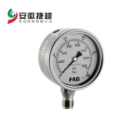 安徽捷越FAG 压力表PUMP1000.MANO-G1/2